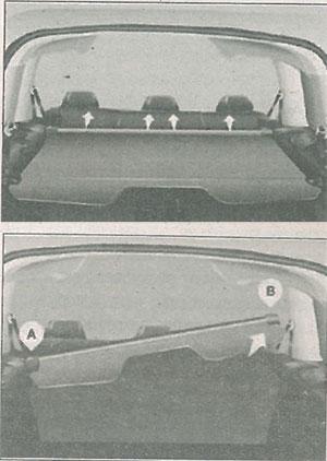 Стойка Peugeot Partner