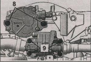 стопоры Peugeot 407