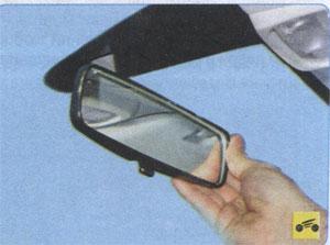 Внутреннее зеркало Peugeot 408