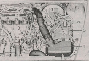 воздушный фильтр Peugeot 607