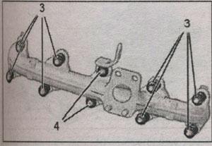 распределитель впускного воздуха Peugeot 407