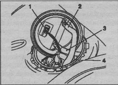 подающий и возвратный топливный шланг топливной системы Opel Zafira
