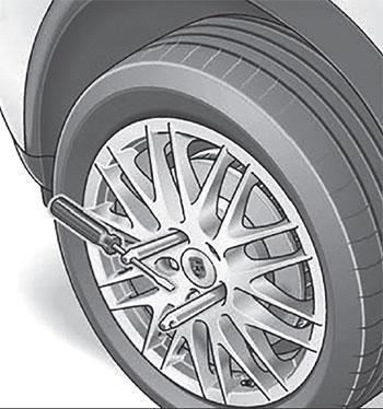 Динамометрический ключ Porsche Cayenne