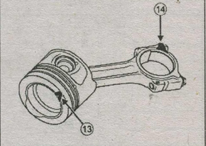 класс поршня Renault Fluence, блок цилиндра Renault Fluence