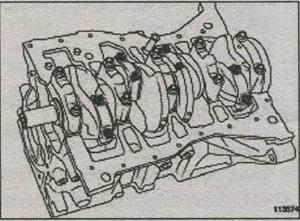 шатун в сборе Renault Fluence, поршень Renault Fluence
