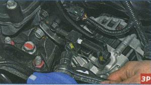 крепление генератора Kia Ceed