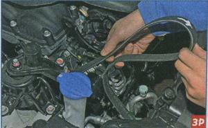 шкив генератора Kia Ceed, шкив насоса охлаждающей жидкости Kia Ceed