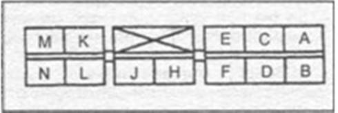 cхема подключения блока управления Mazda 323
