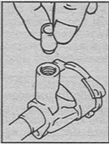 проверка редукционного клапана Toyota Hi Ace