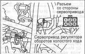 регулятор оборотов холостого хода Mitsubishi Outlander