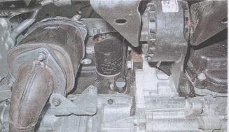 двигатель автомобиля Chevrolet Cruze