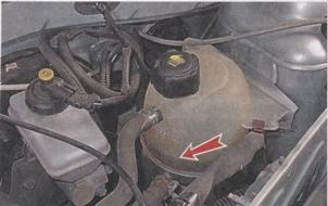 расширительный бачек системы охлаждения Renault Sandero