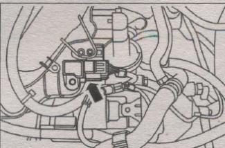 разъем датчика давления Volvo S40 2003 года