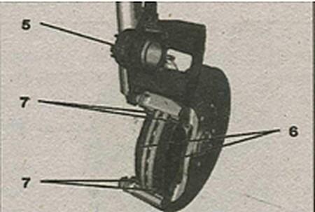 разборка тормозного механизма Peugeot 308