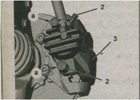 разборка тормозной системы  Peugeot 308
