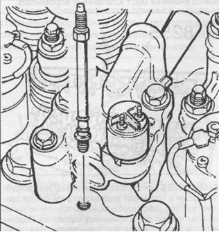 разборка двигателя Volvo Vnl