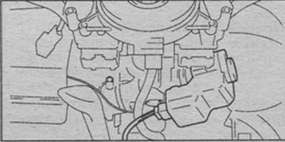 разъем иммобилайзера Suzuki Liana