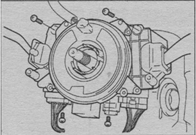 разъемы комбинированного переключателя Suzuki Liana
