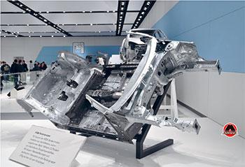 Приклад уніфікованої платформи кузова, призначеної для декількох моделей.