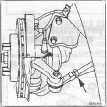 регулировка величины схождения Hyundai Elantra