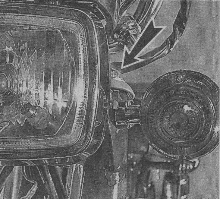 регулировка светового пучка скутера