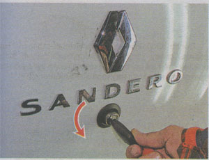 Ключ Renault Sandero 2