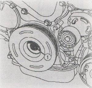 Коленчатый вал Nissan Interstar