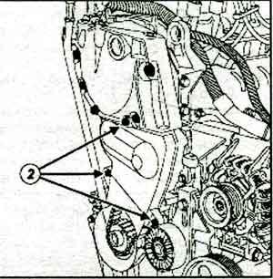 крышка грм Renault Logan, крышка грм Renault Sandero