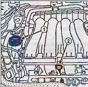 маслозаливная горловина Renault Megane
