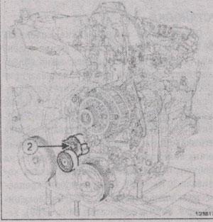 натяжной ролик Renault Laguna III