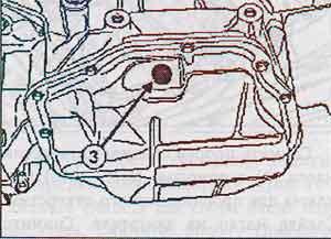 поддон картера Renault Megane