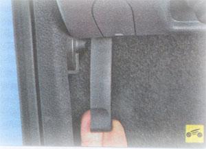 Рукоятка привода Renault Duster
