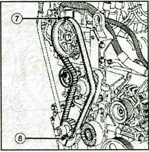 шкив коленвала Renault Logan / Sandero