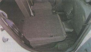 Спинка заднего сидения Renault Sandero 2