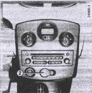 указатели поворотов Renault Clio 3