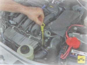 Уровень масла Renault Duster