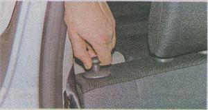 Задние сиденья Renault Sandero 2