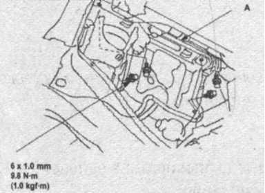 направляющая рейка рулевого управления Honda CR-V