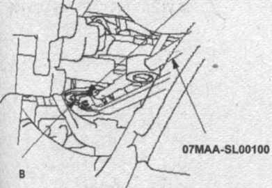 контргайка упора Honda CR-V, резьбовая направляющая рейка Honda CR-V