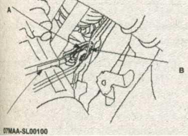 резьбовая направляющая рейка Honda CR-V