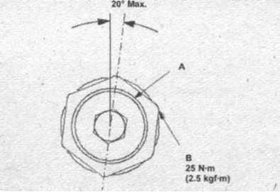 упор резьбовой направляющей рейки Honda CR-V