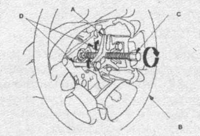 болт крепления рулевого колеса Honda CR-V