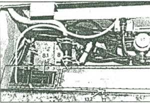 клапан отопителя Setra S300