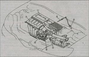 система впуска воздуха Mazda 3, воздушный фильтр Mazda 3