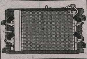 конденсатор кондиционера Skoda Fabia