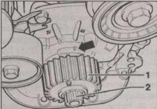 масляный насос Skoda Octavia II
