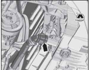 правый шланг радиатора Skoda Octavia, правый шланг радиатора Skoda Octavia Combi