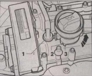 заливная горловина масла с крышкой Skoda Octavia II