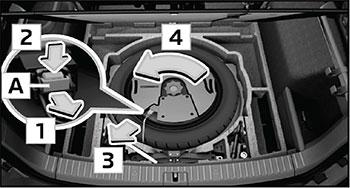 Запасное колесо Skoda Kodiaq