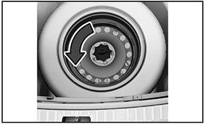Запасное колесо Skoda Rapid